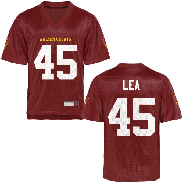 Youth George Lea Arizona State Sun Devils Authentic Football Jersey Maroon