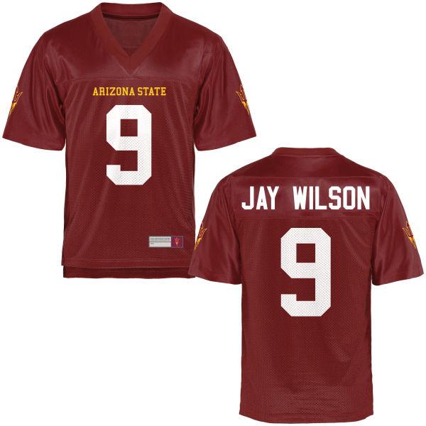 Women's Jay Jay Wilson Arizona State Sun Devils Authentic Football Jersey Maroon