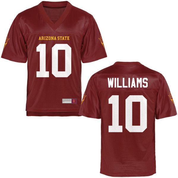 Men's Kyle Williams Arizona State Sun Devils Authentic Football Jersey Maroon