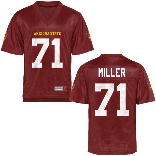 Men's Steven Miller Arizona State Sun Devils Game Football Jersey Maroon