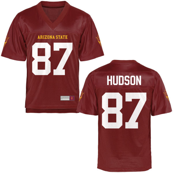 Men's Tommy Hudson Arizona State Sun Devils Game Football Jersey Maroon