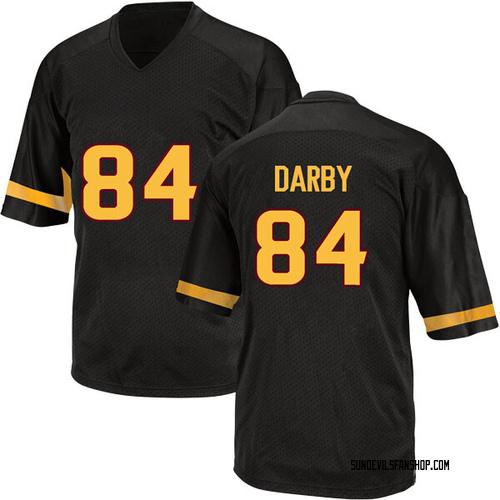 Men's Adidas Frank Darby Arizona State Sun Devils Game Black Football College Jersey