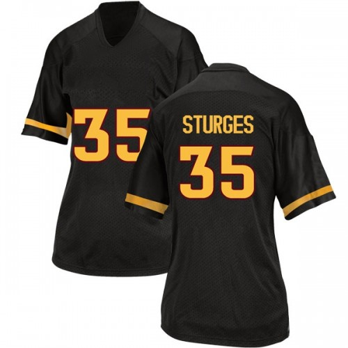 Women's Adidas Brock Sturges Arizona State Sun Devils Replica Black Football College Jersey