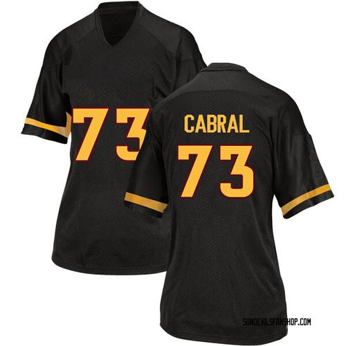 Women's Adidas Cohl Cabral Arizona State Sun Devils Replica Black Football College Jersey