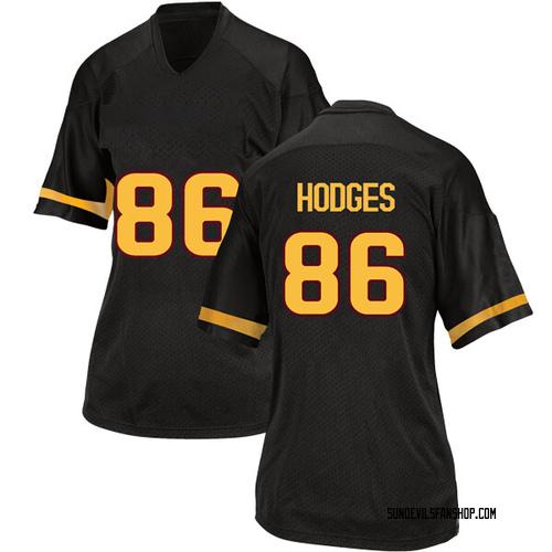 Women's Adidas Curtis Hodges Arizona State Sun Devils Game Black Football College Jersey