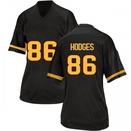 Women's Adidas Curtis Hodges Arizona State Sun Devils Replica Black Football College Jersey