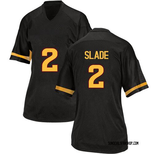 Women's Adidas Darius Slade Arizona State Sun Devils Replica Black Football College Jersey