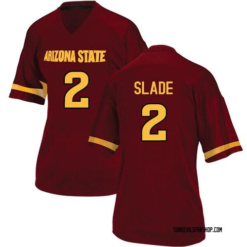 Women's Adidas Darius Slade Arizona State Sun Devils Replica Maroon Football College Jersey