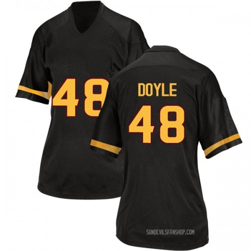 Women's Adidas Ely Doyle Arizona State Sun Devils Game Black Football College Jersey