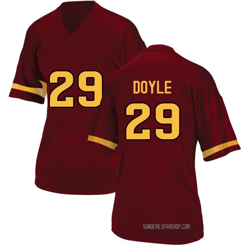 Women's Adidas Ely Doyle Arizona State Sun Devils Game Maroon Football College Jersey