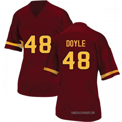 Women's Adidas Ely Doyle Arizona State Sun Devils Replica Maroon Football College Jersey