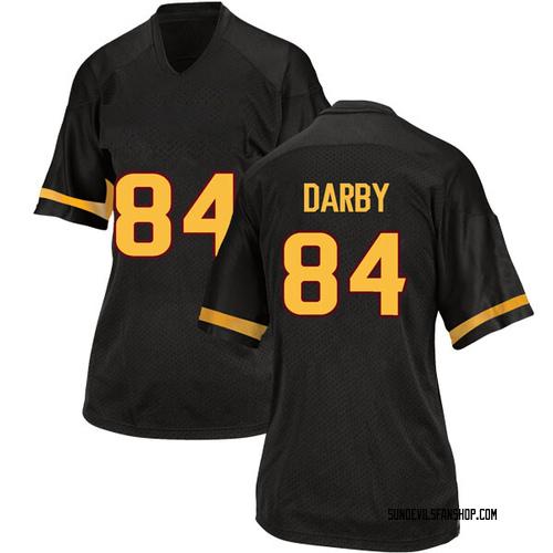 Women's Adidas Frank Darby Arizona State Sun Devils Replica Black Football College Jersey