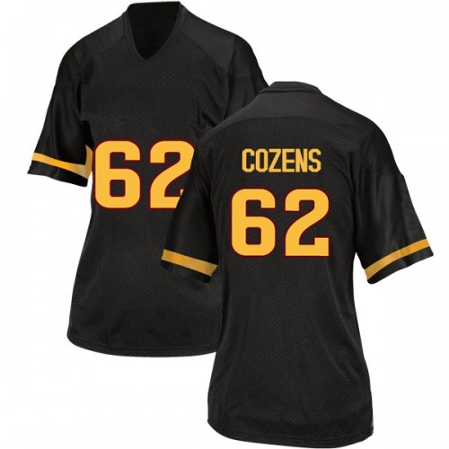 Women's Adidas Jesse Cozens Arizona State Sun Devils Replica Black Football College Jersey