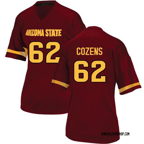 Women's Adidas Jesse Cozens Arizona State Sun Devils Replica Maroon Football College Jersey