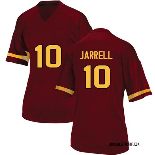 Women's Adidas K.J. Jarrell Arizona State Sun Devils Game Maroon Football College Jersey