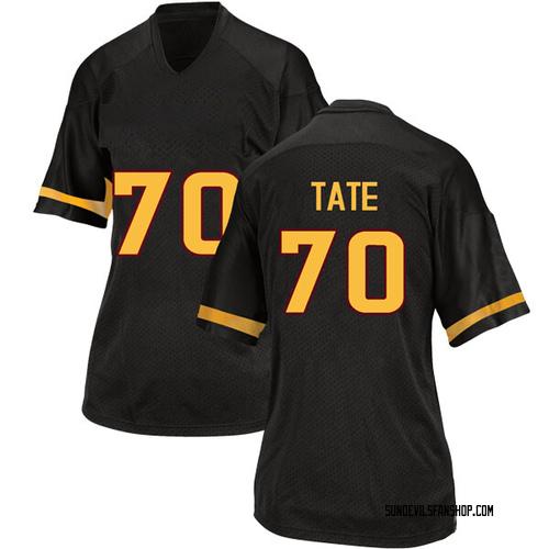 Women's Adidas Michael Tate Arizona State Sun Devils Replica Black Football College Jersey
