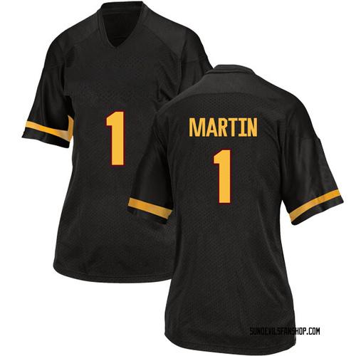 Women's Adidas Remy Martin Arizona State Sun Devils Game Black Football College Jersey