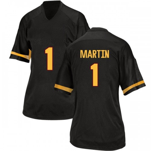 Women's Adidas Remy Martin Arizona State Sun Devils Replica Black Football College Jersey