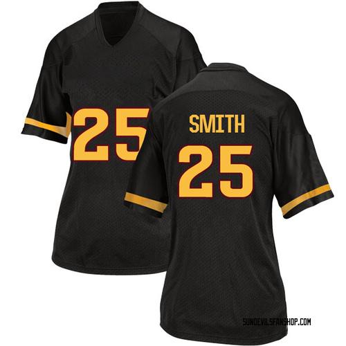 Women's Adidas Trelon Smith Arizona State Sun Devils Replica Black Football College Jersey
