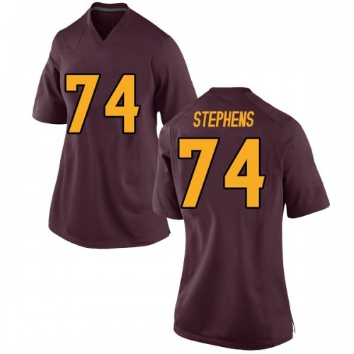 Women's Nike Corey Stephens Arizona State Sun Devils Game Maroon Football College Jersey