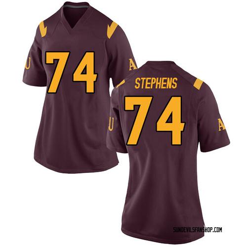 Women's Nike Corey Stephens Arizona State Sun Devils Replica Maroon Football College Jersey