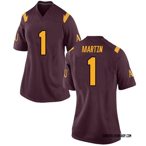 Women's Nike Remy Martin Arizona State Sun Devils Replica Maroon Football College Jersey