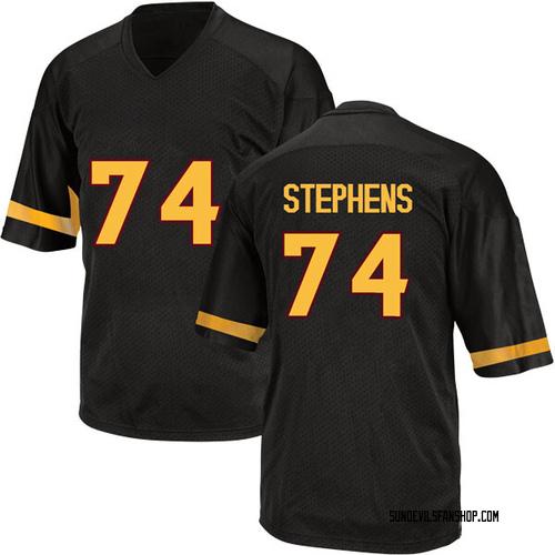 Youth Adidas Corey Stephens Arizona State Sun Devils Game Black Football College Jersey