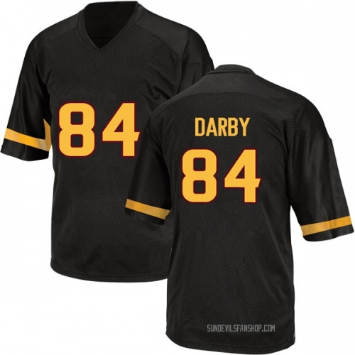 Youth Adidas Frank Darby Arizona State Sun Devils Game Black Football College Jersey