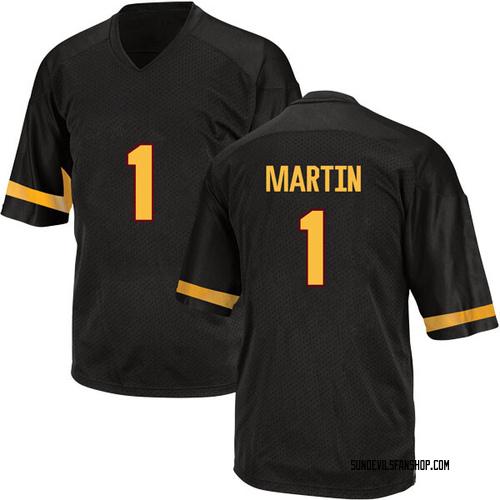 Youth Adidas Remy Martin Arizona State Sun Devils Replica Black Football College Jersey