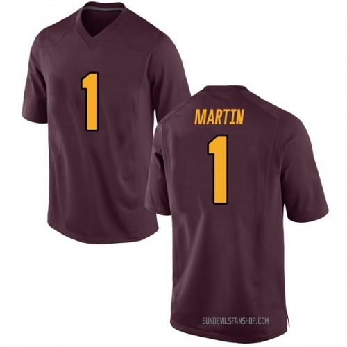 Youth Nike Remy Martin Arizona State Sun Devils Game Maroon Football College Jersey